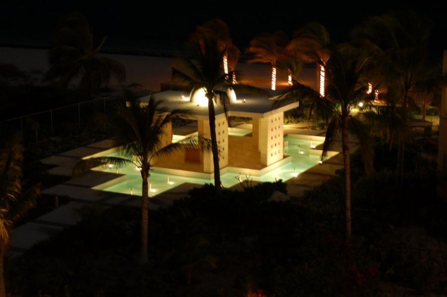 ceremony location at excellence playa mujeres