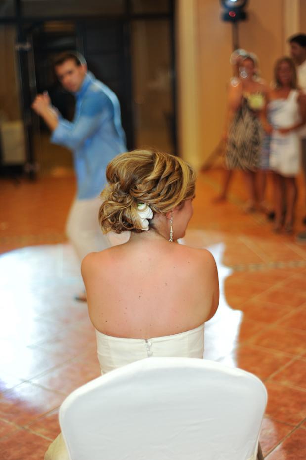 lap dance at wedding