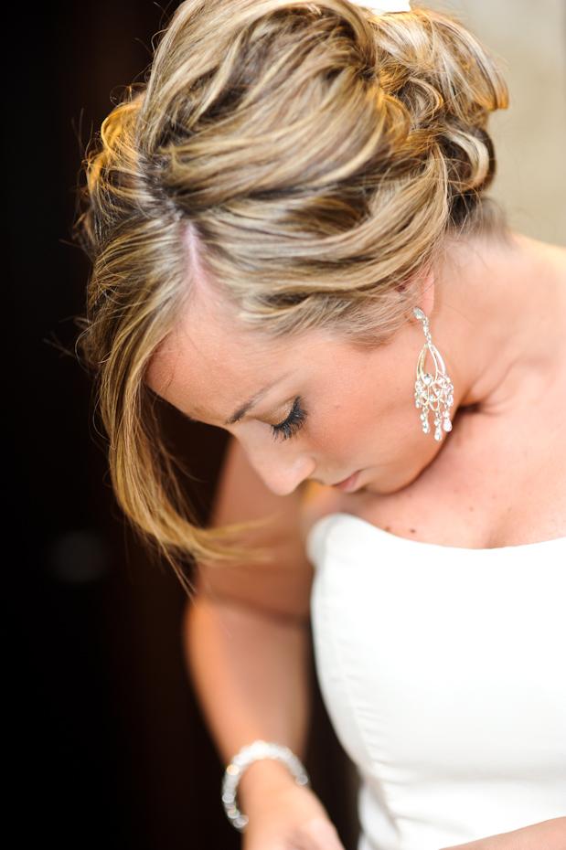 dangly wedding earrings
