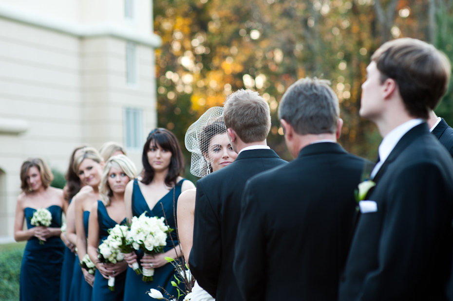 fall wedding on matisse lawn