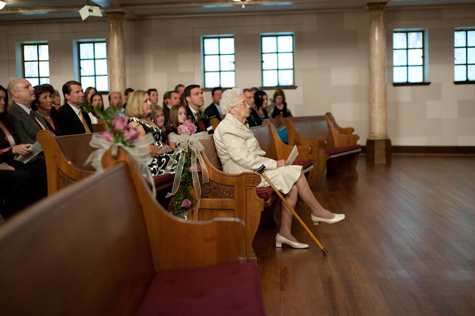 wedding at druid hills baptist church