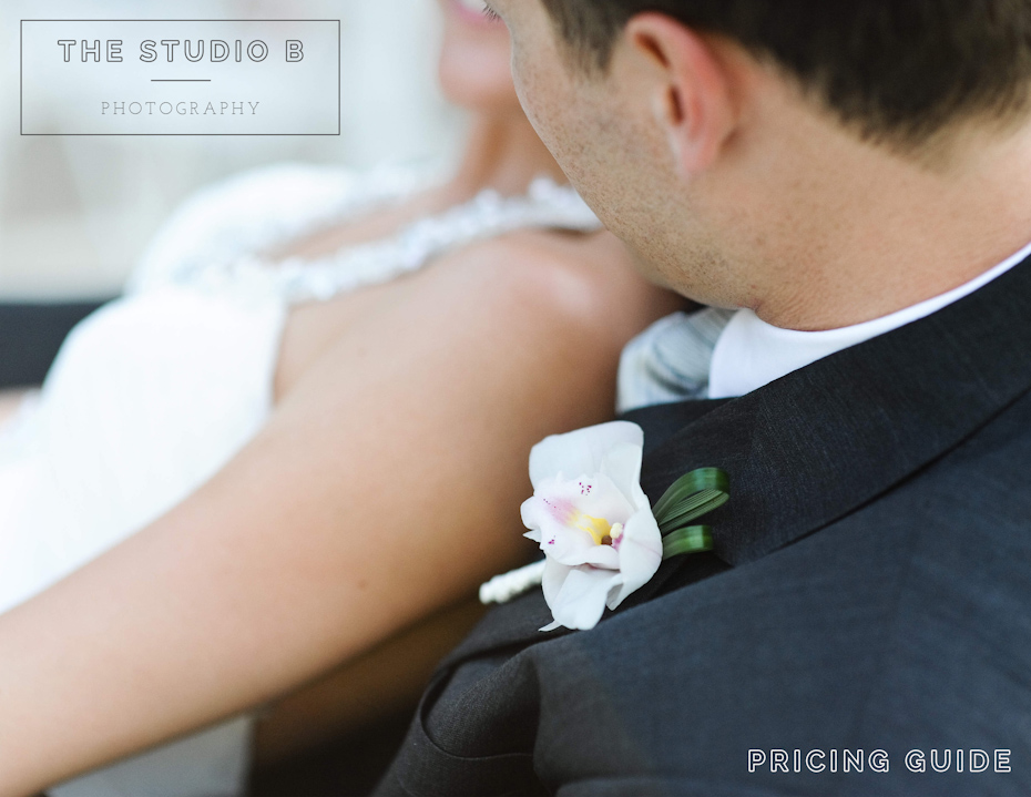 The Studio B Photography Pricing