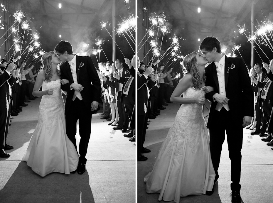 sparkler exit at foundry at puritan mill
