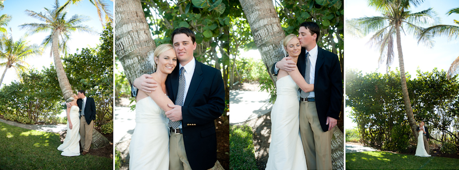 Pink Shell Resort Wedding Picture