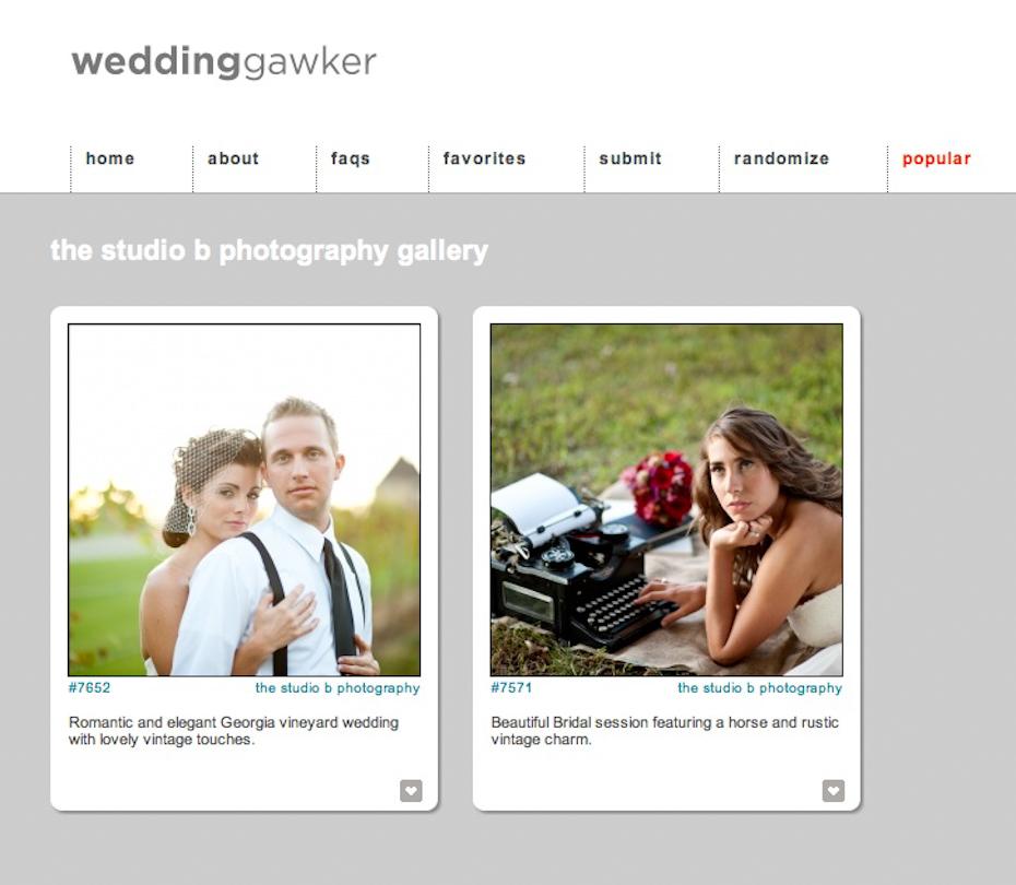 weddinggawker