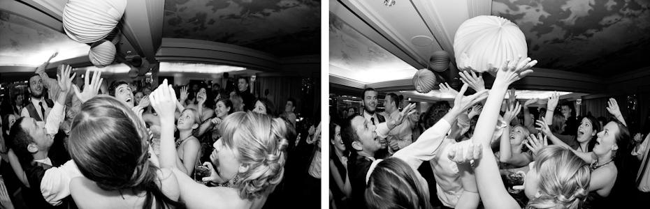 fun times at wedding