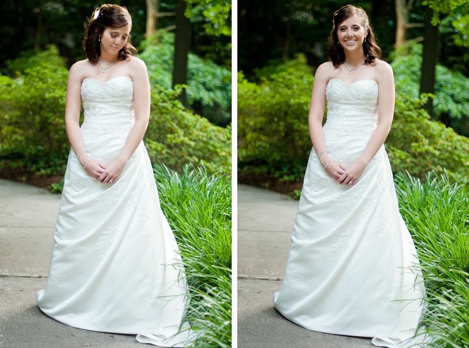 strapless wedding dress by pronovias