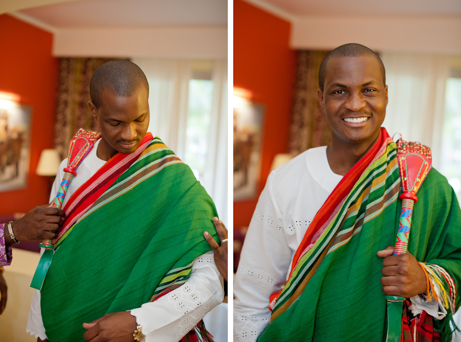 Nigerian Wedding Outfit for Groom
