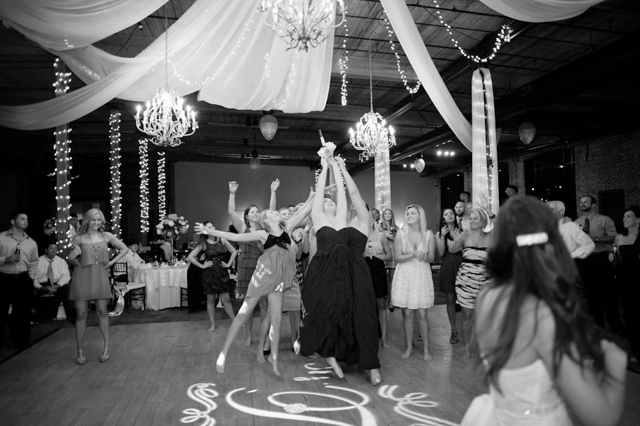 Wedding Bouquet toss funny
