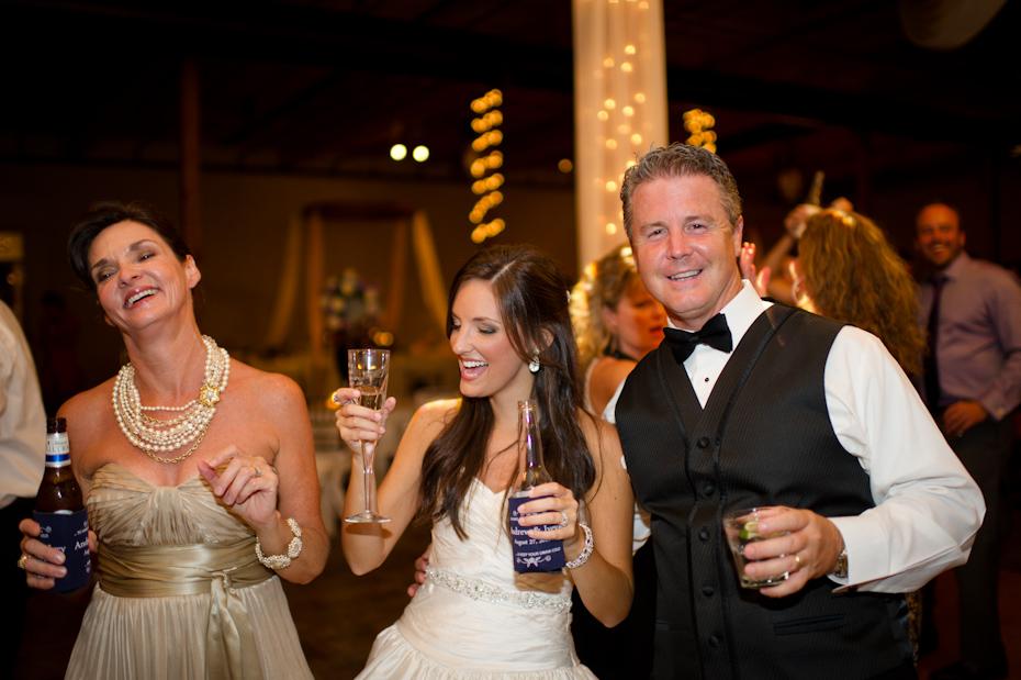 Fun wedding picture