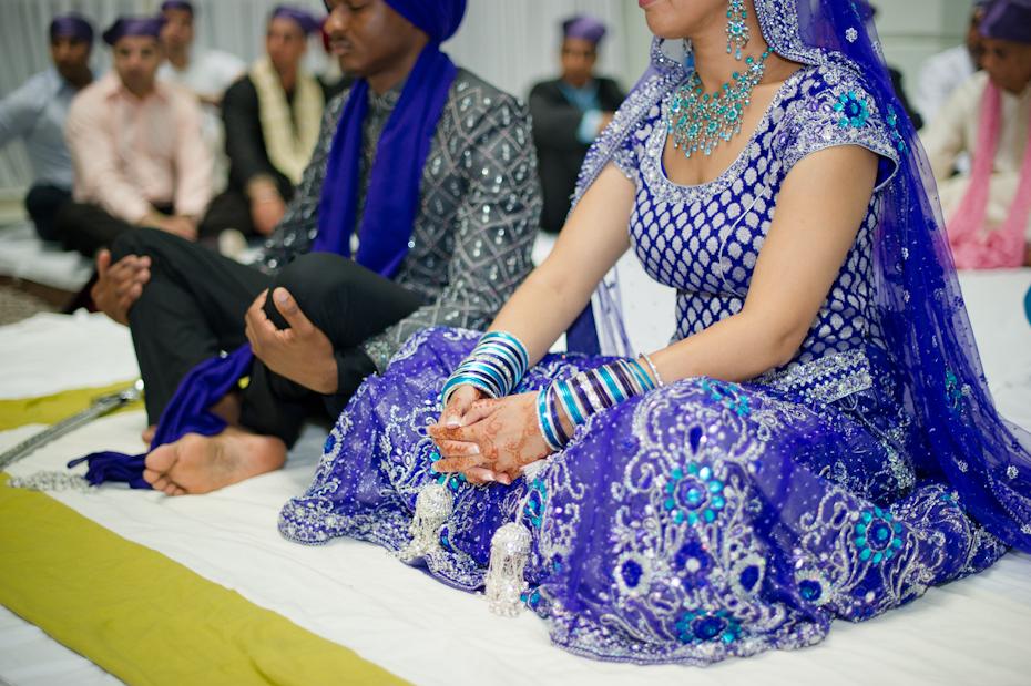 Sikh wedding attire