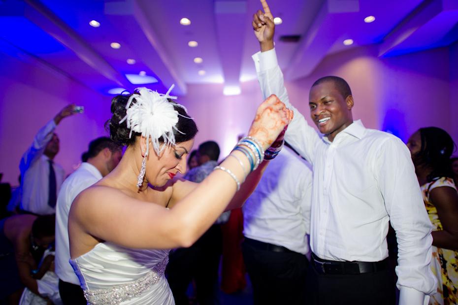 Iberostar Rose Hall Wedding Reception Indoors