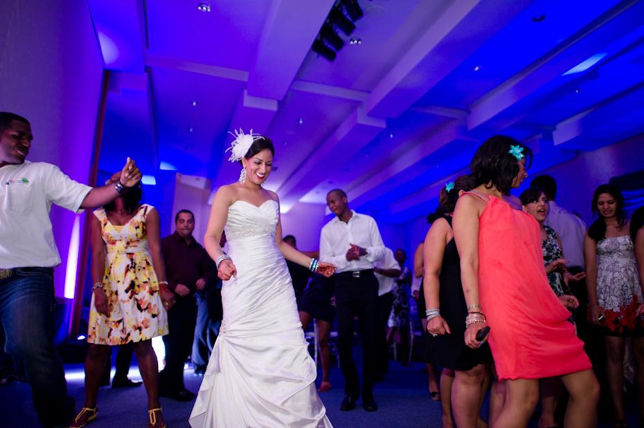 Cupid Shuffle at Wedding