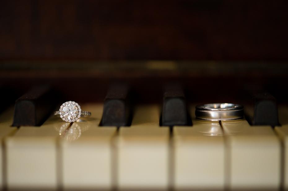 Creative engagement ring shots