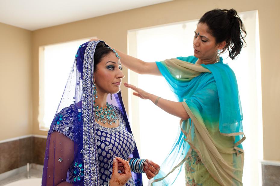 sikh wedding preparation