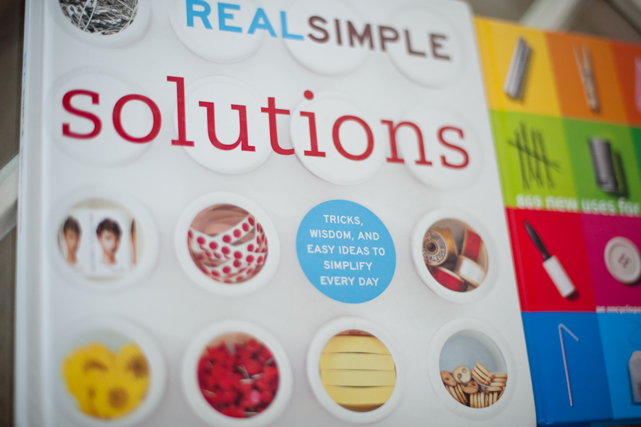 Real Simple Book