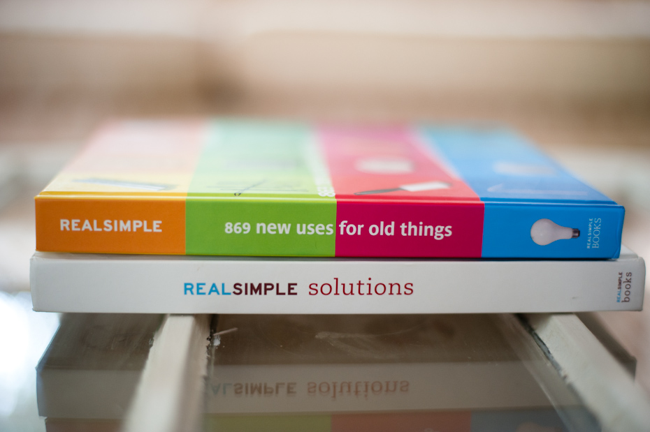 Real simple book titles