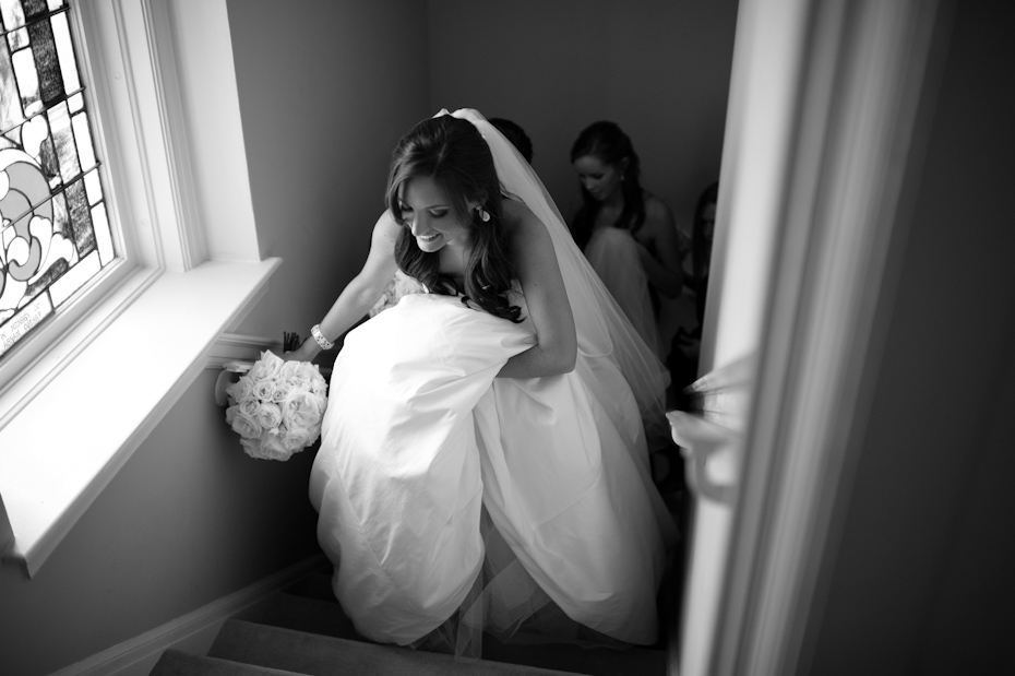 bride about to get married