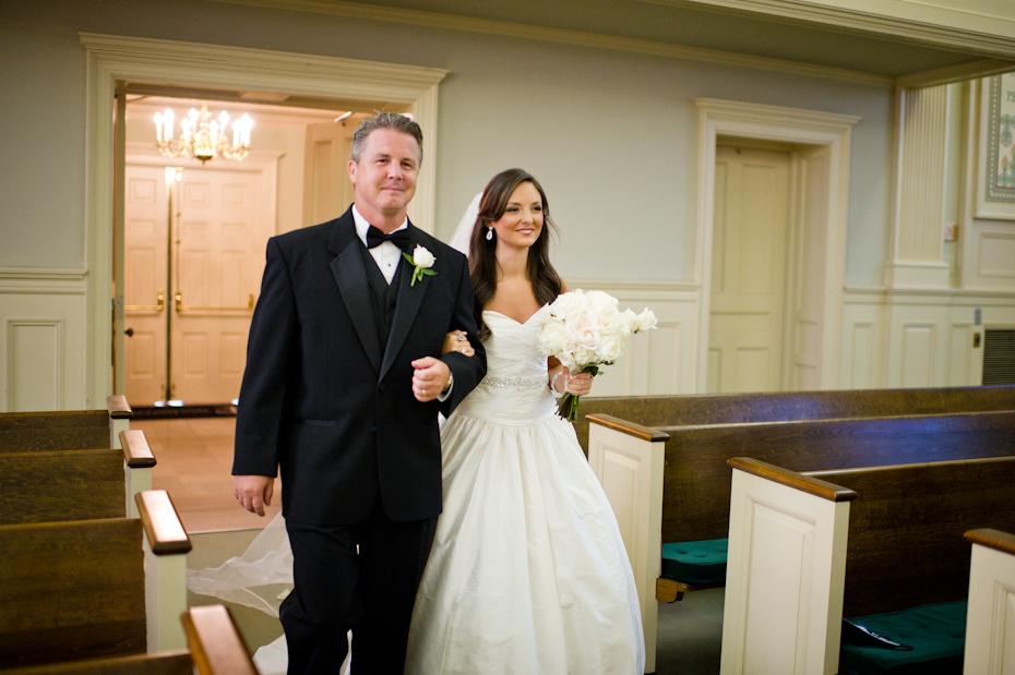 St. Paul Methodist Church wedding