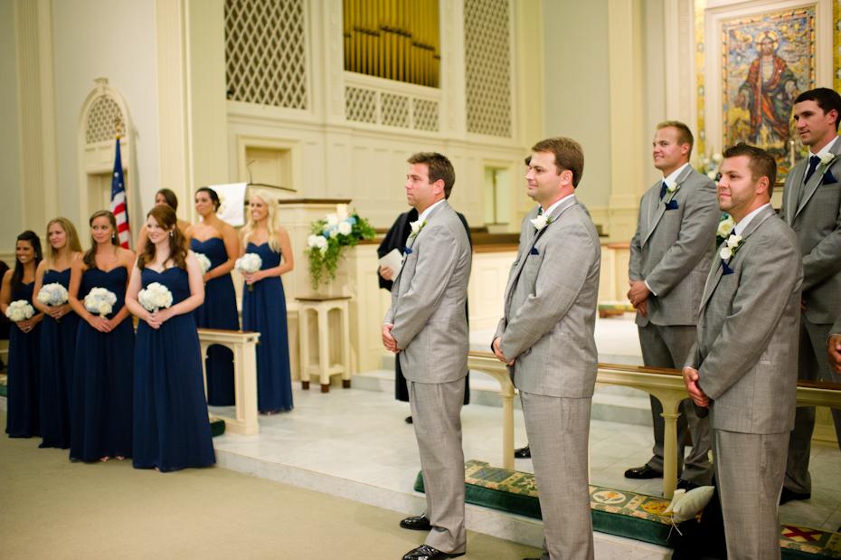 Ceremony at St. Paul Methodist Church
