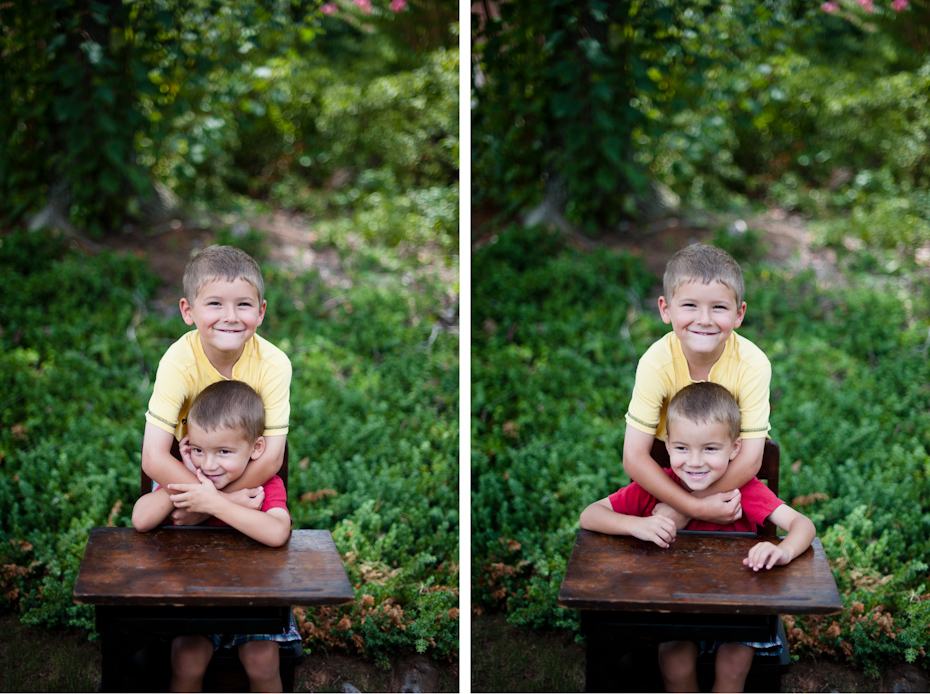 Photos of brothers