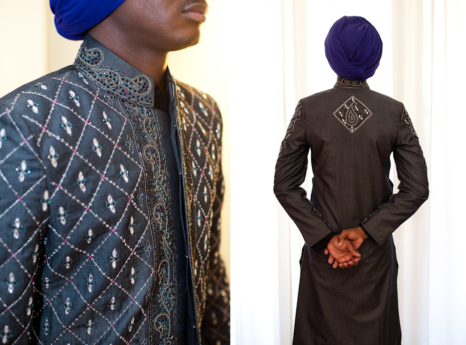 What groom wears at Sikh wedding