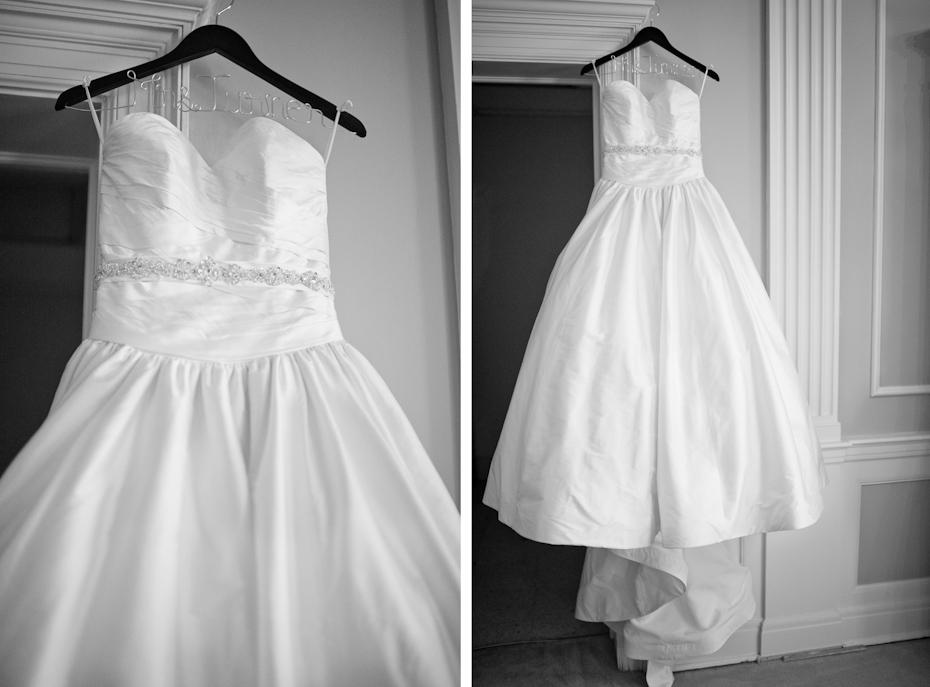 strapless wedding dress with sweetheart neckline
