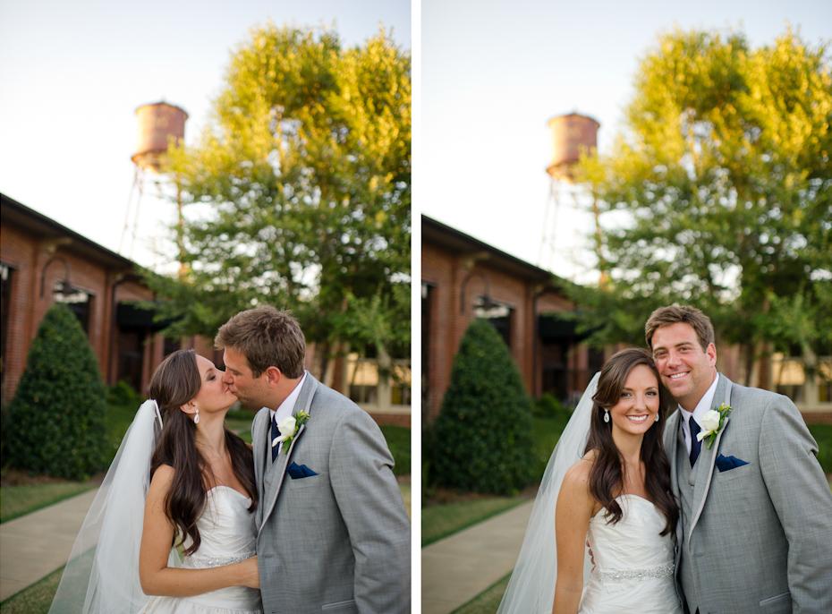 Wedding Reception at River Mill Event Center Columbus