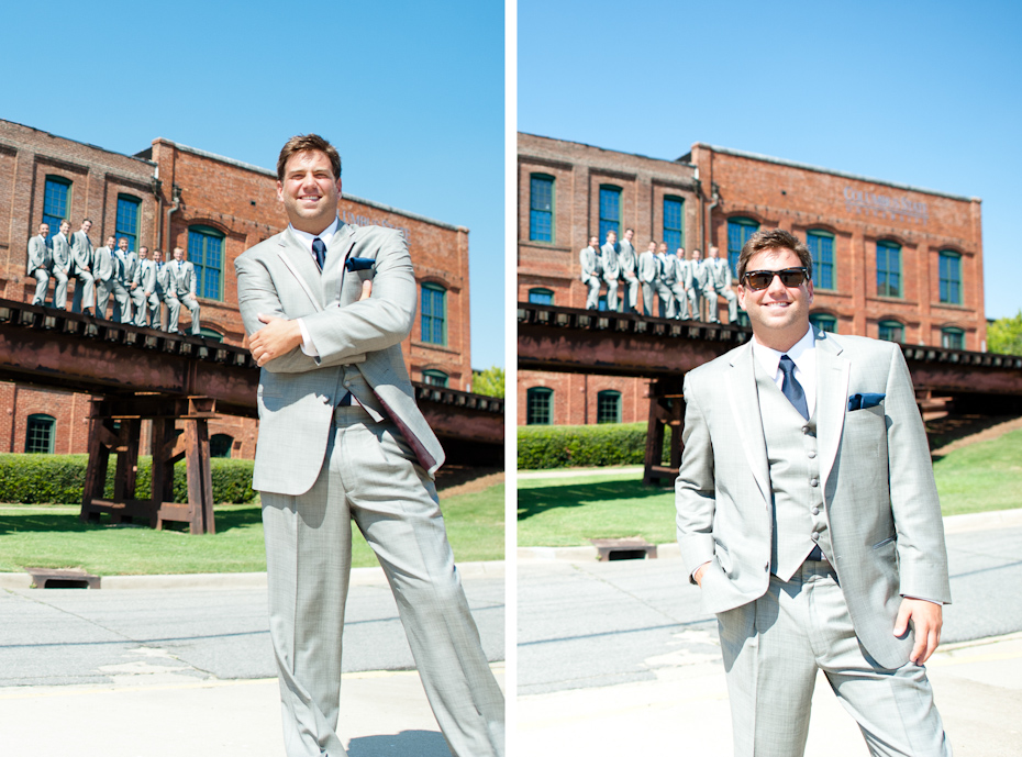 Downtown Columbus wedding pictures