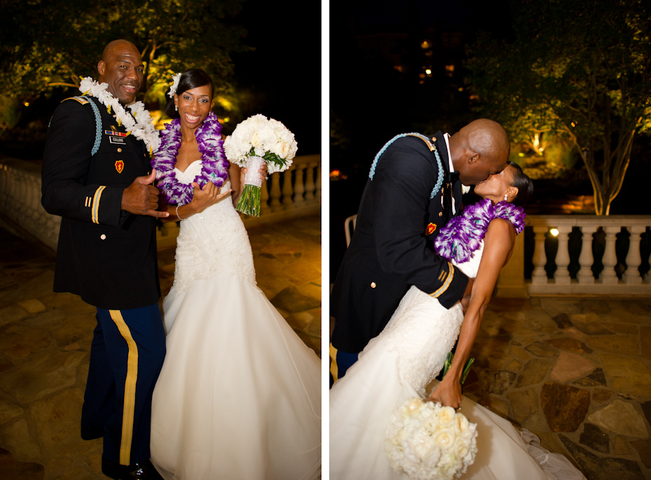 Hawaiian Themed Wedding Picture