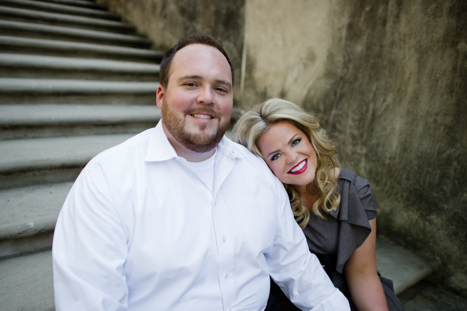 Engagement Pictures at Swan House Atlanta