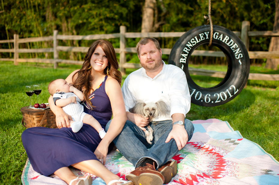 Save the Date Tire Swing by Honey Bee Invites