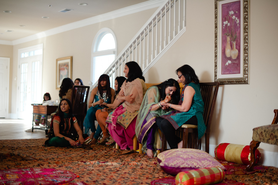 Mendhi party in Atlanta