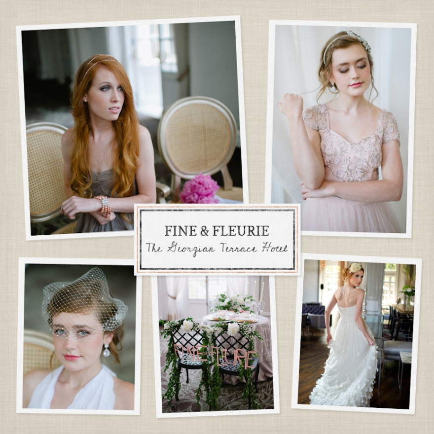 fineandfleuriegeorgianterrace Georgian Terrace Bridal Shoot | Fine & Fleurie