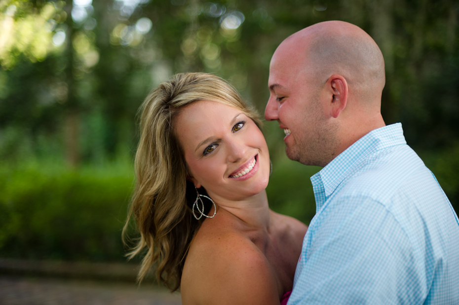 Maclay Gardens Engagement Picture