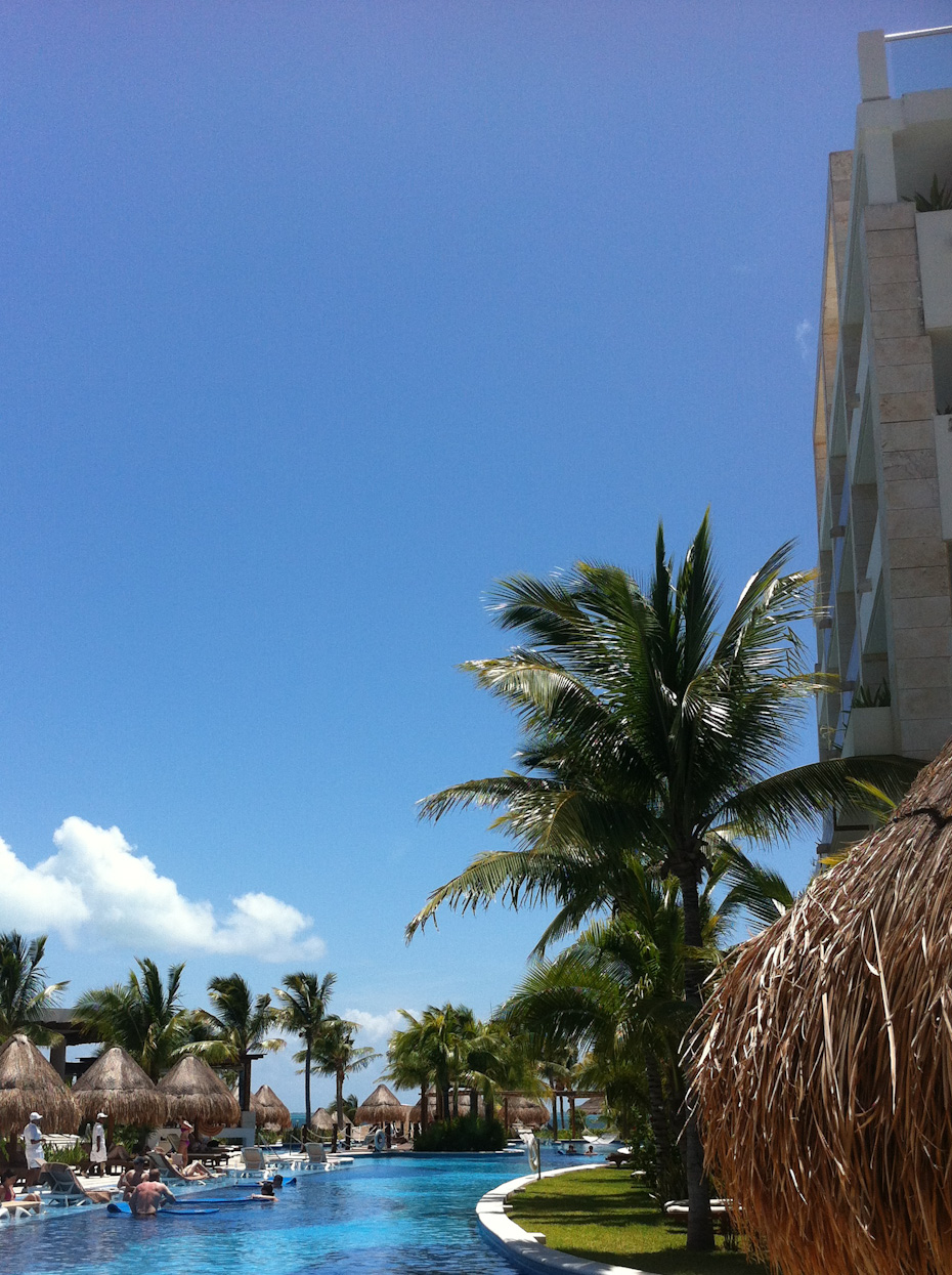 Pool and Beach at Excellence Playa Mujeres