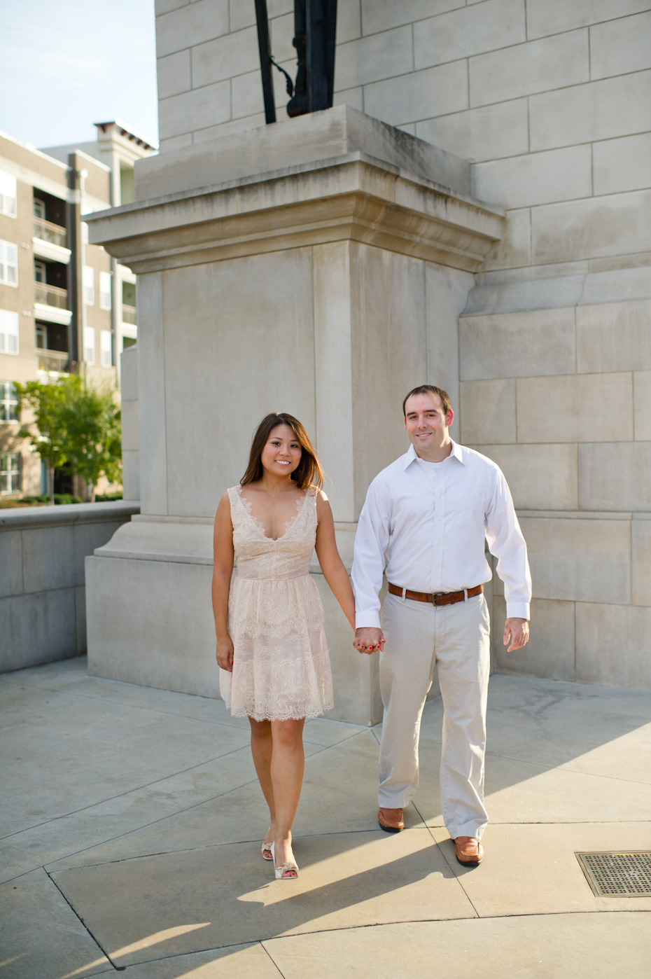 Millenium Gate Engagement Picture