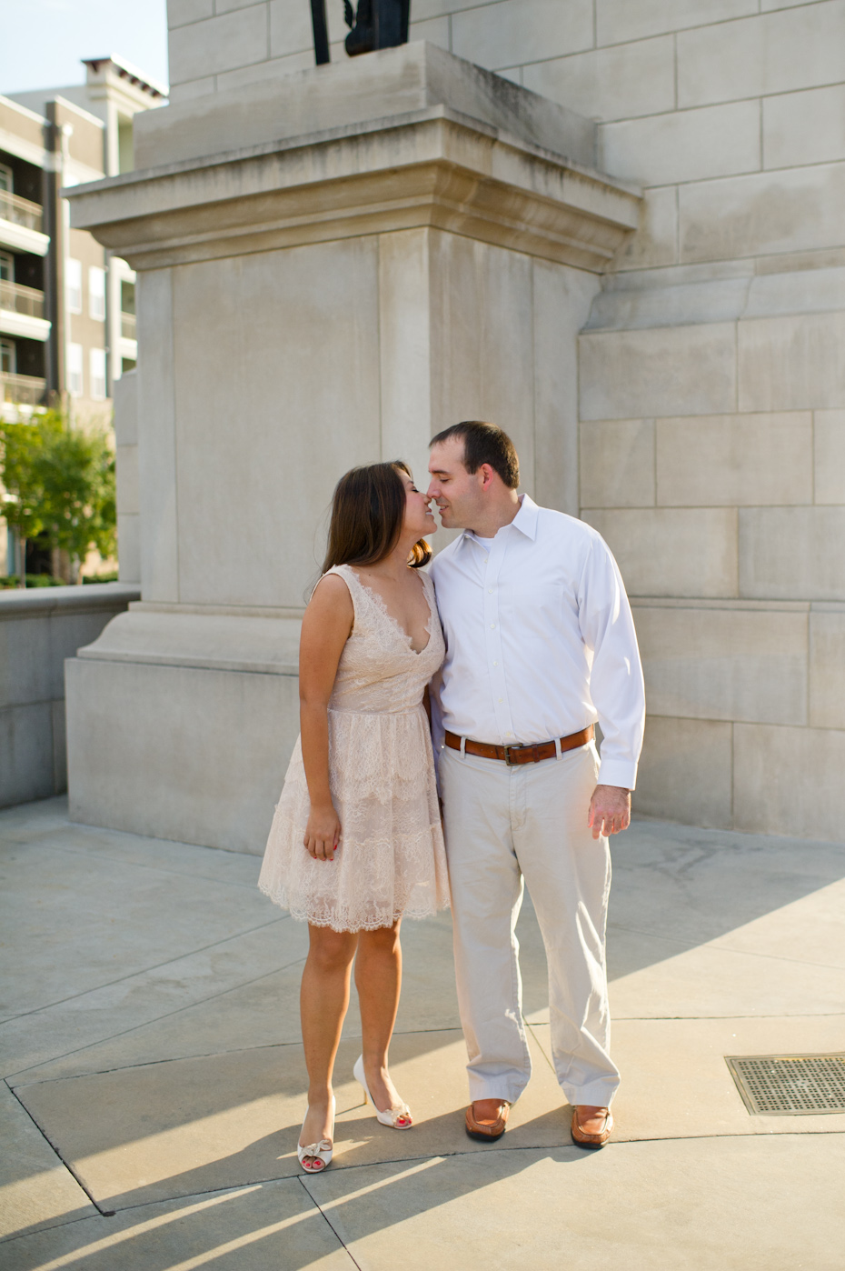 Good places to take engagement pictures in Atlanta