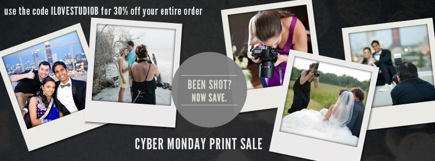 Studio B Photography Cyber Monday Sale