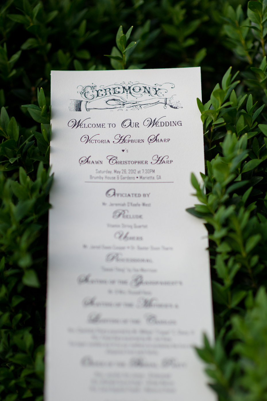 Wedding Program Ideas