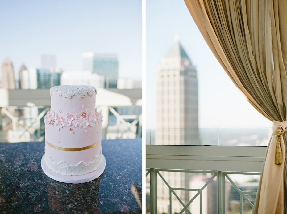 Rooftop Wedding in Atlanta