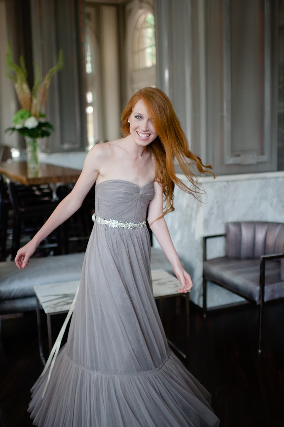 Redheaded Bridesmaid