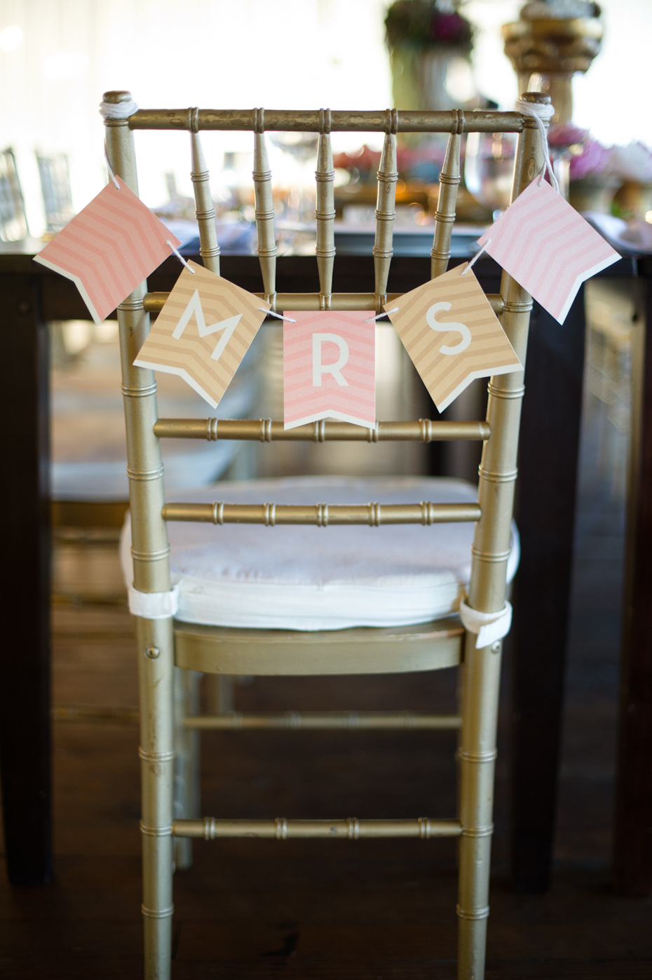 Mrs. Chair Decoration