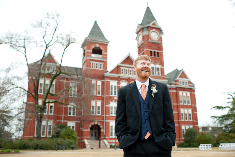 Wedding at Samford Hall at Auburn