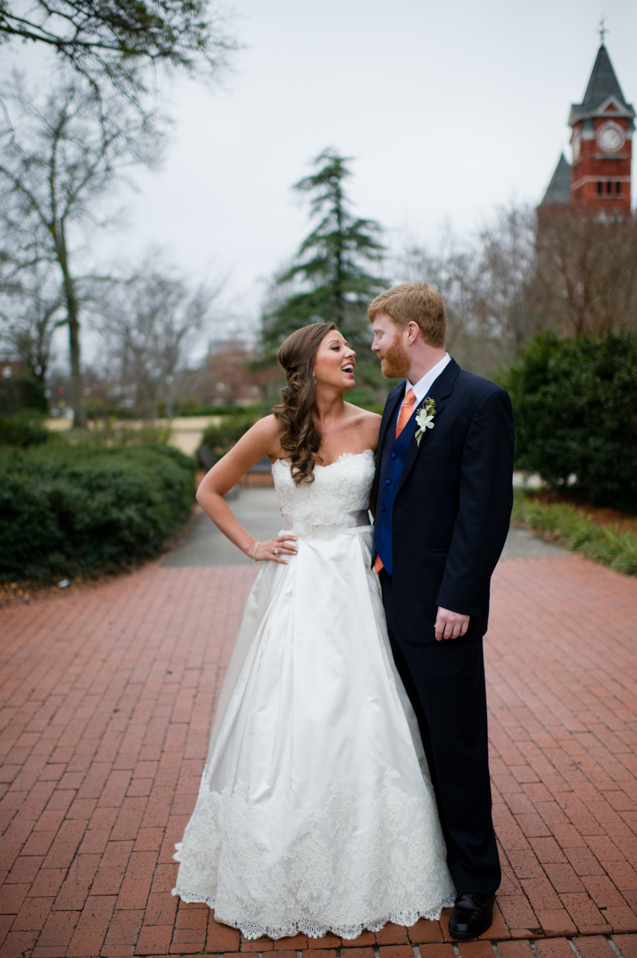 Samford Hall Auburn Wedding