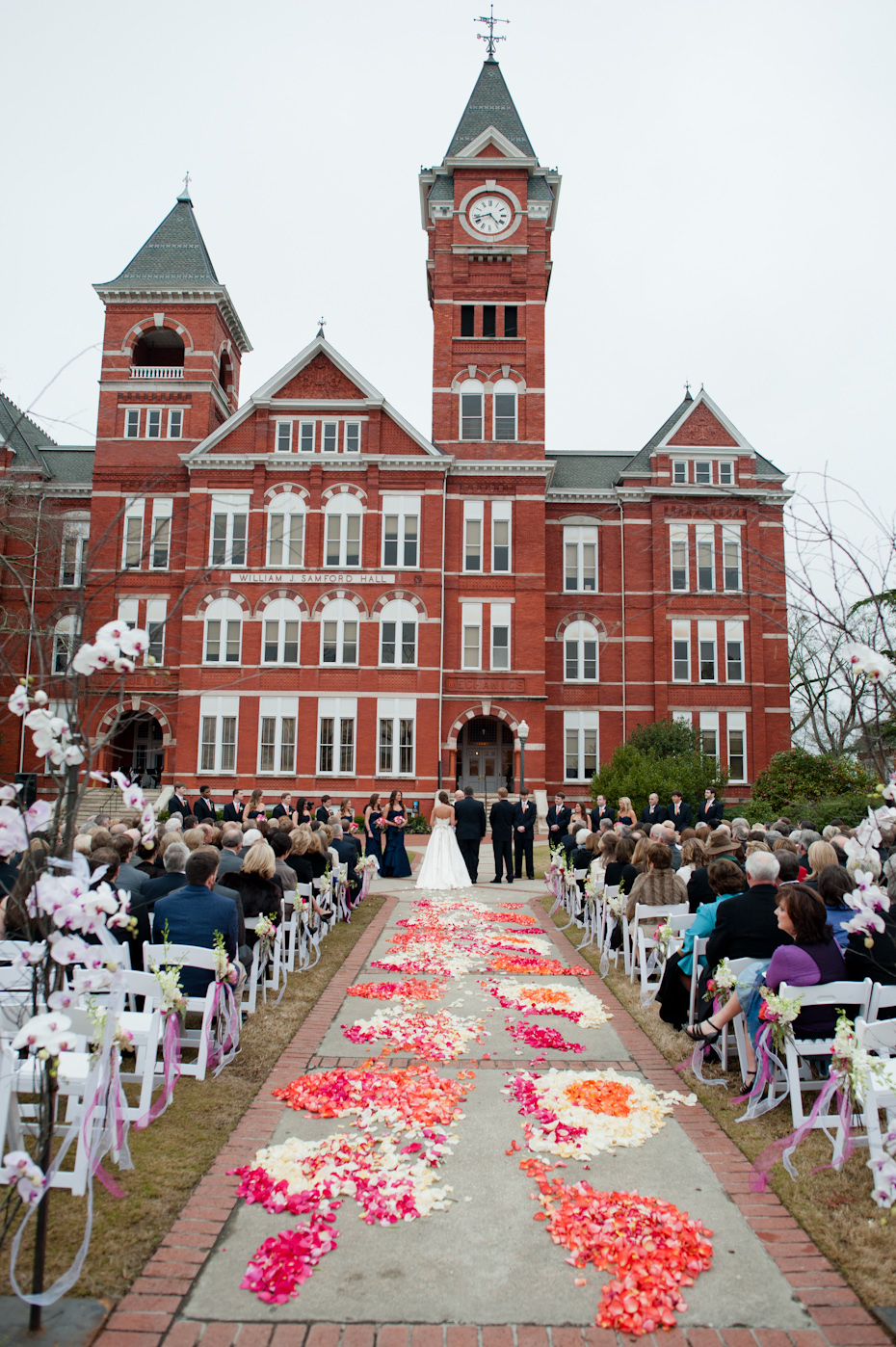 Auburn University Wedding Samford Hall