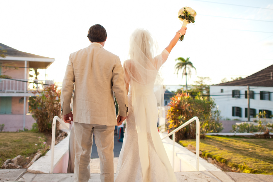 Wedding in Harbour Island Bahamas