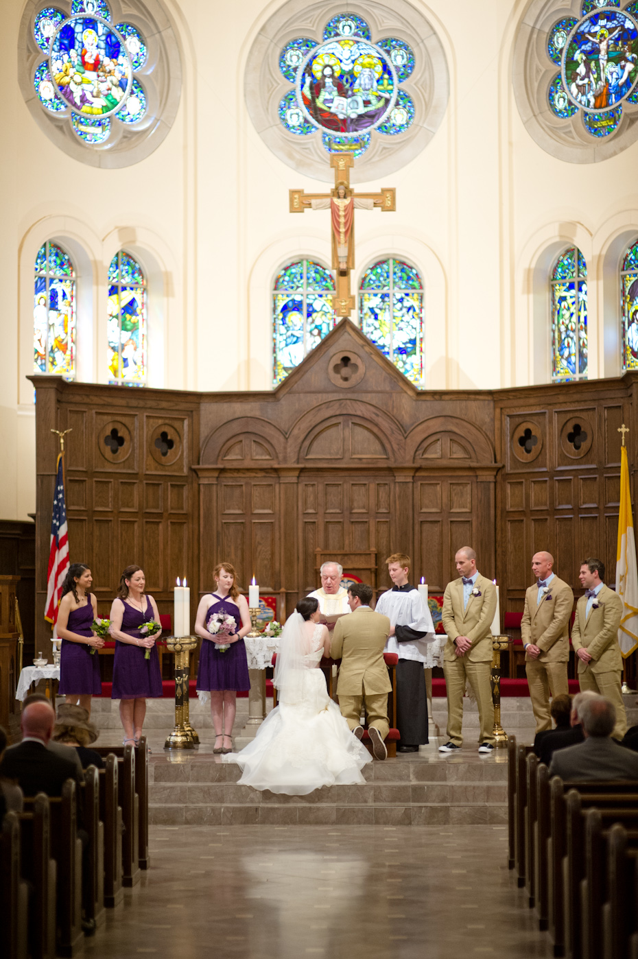 Wedding Ceremony Holy Spirit Catholic Church Atlanta
