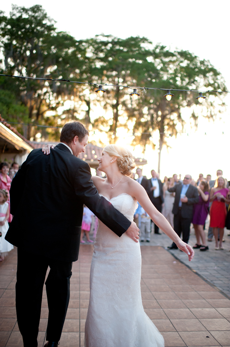 Winter Park Racquet Club Wedding Picture