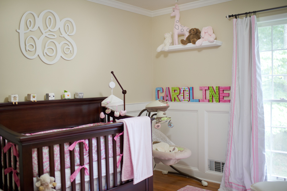Our Little Girl S Nursery Atlanta Georgia Wedding